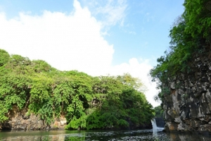 Otentic Mauritius South East Grand River and its spectacular waterfall
