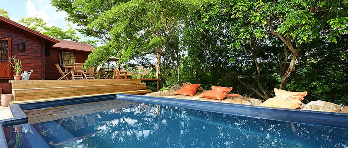 Otentic Eco Tent Experience Mauritius Accommodation With Pool